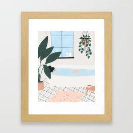 weekend plans Framed Art Print