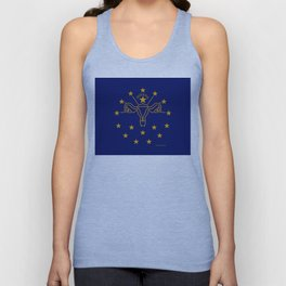 Indiana: The Crossroads of Abortion Access Unisex Tank Top