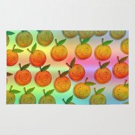 Freckle Cute Orange Rug