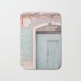 The mint door Bath Mat