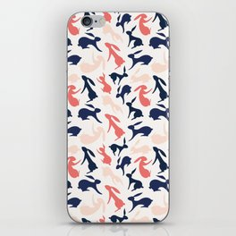 Abstract Rabbits Pattern iPhone Skin