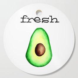 Fresh Avocado fr e sh a voca do Cutting Board