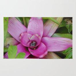 Purple Plant Rug
