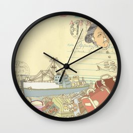 Great-grandmother's secret Wall Clock