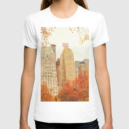 Autumn - Central Park - Fall Foliage - New York City T-shirt
