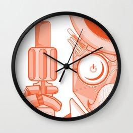 Robo-Mobstah Wall Clock