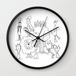 De Familie Wall Clock