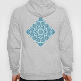Beautiful blue sky mandala Hoody