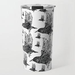 Flock of Starlings / Murmuration Travel Mug