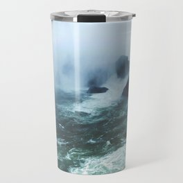 From below where all the water falls, Niagara 03 Travel Mug