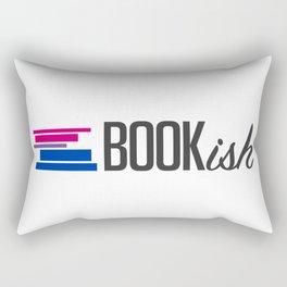 Bisexual, Bookish, and Proud Rectangular Pillow
