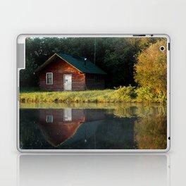 Horn River Cabin Laptop & iPad Skin