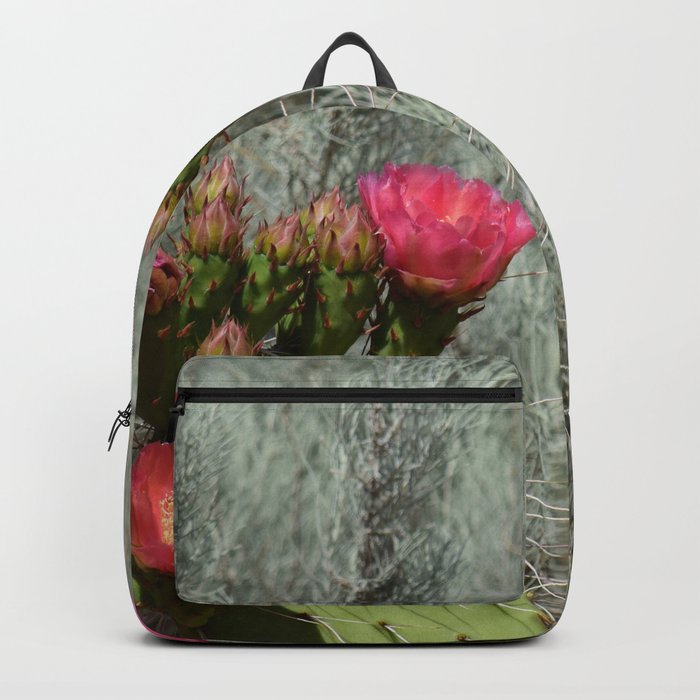 Cacti in Bloom - 3 Backpack