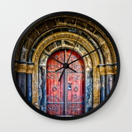 The Portal to the Unknown Wall Clock