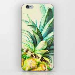 Green Pineapple iPhone Skin