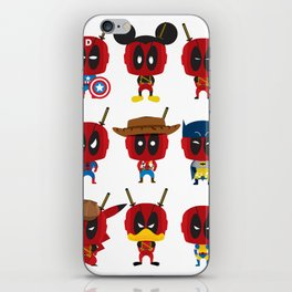 PURE DEAD POOL iPhone Skin