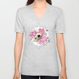 Avian Flower Bones Unisex V-Neck