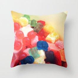 Yum Throw Pillow