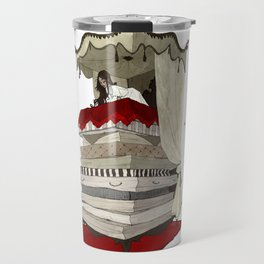 The Princess and the Pea Travel Mug