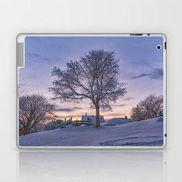 Winter sunset Laptop & iPad Skin
