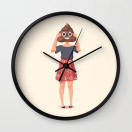 Shitty day Wall Clock