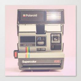 Supercolor 635 Vintage Camera Canvas Print