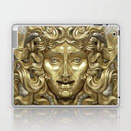 """Ancient Golden and Silver Medusa Myth"" Laptop & iPad Skin"