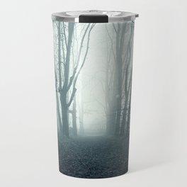 blue forest Travel Mug
