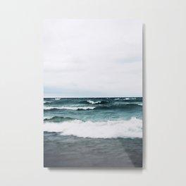 Turquoise Sea #3 Metal Print