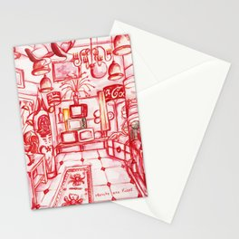Old Red Shop Stationery Cards