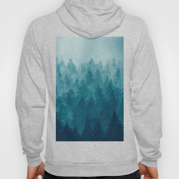Misty Pine Forest Hoody