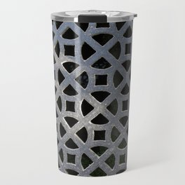 ORNATE GREY GRILLE Travel Mug