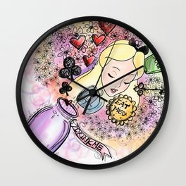 Rabbit Hole Wall Clock