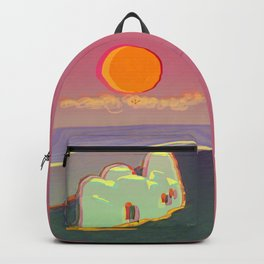 Red Moon Summer Vibrations Backpack