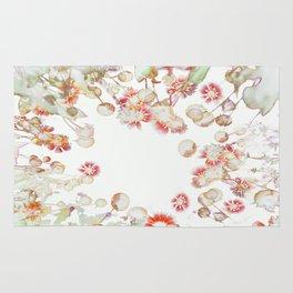 Ethereal Pastel Summer Garden Rug