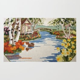 Peaceful place Rug