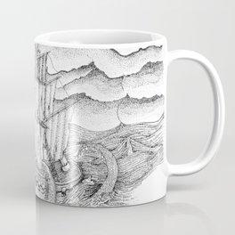 Ship and sea Coffee Mug