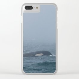 Ballena and Crewser Clear iPhone Case