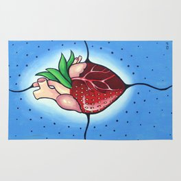 The Heart Berry Rug