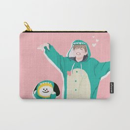 Dinosaur Chimmy (Pink Ver.) Carry-All Pouch