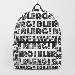 BLERG! Backpack