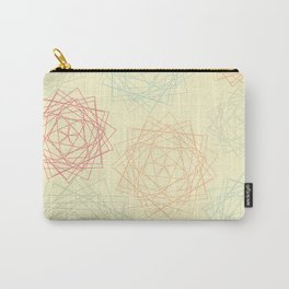 Origami Blooms Carry-All Pouch