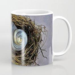 DISTRESSED NESTING SHELL Coffee Mug