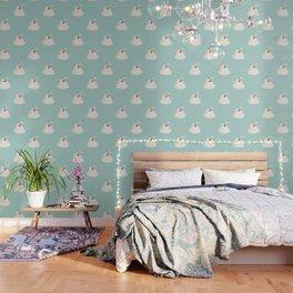 Cherry on top pattern Wallpaper