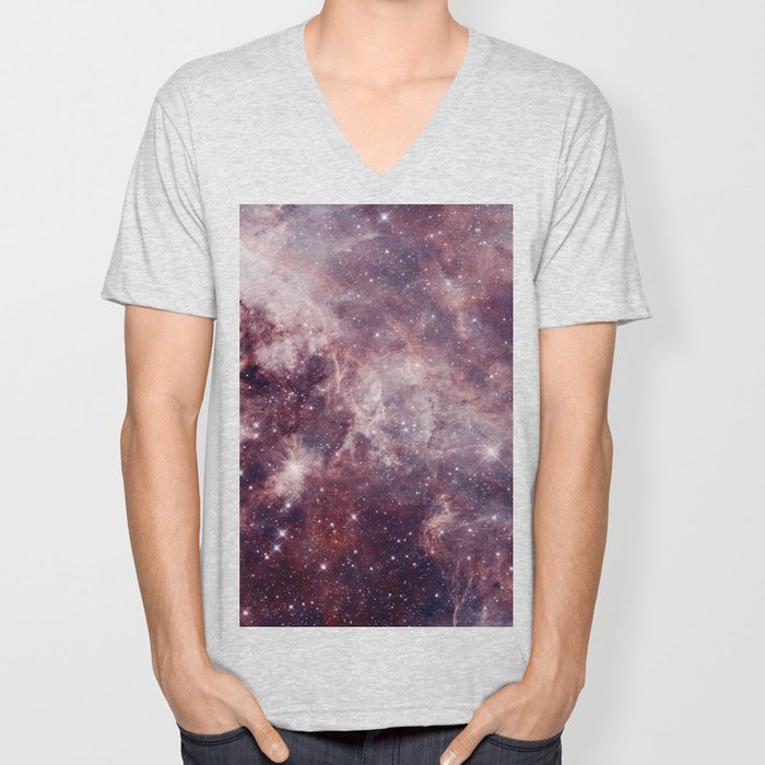 Cloud Galaxy Unisex V-Neck