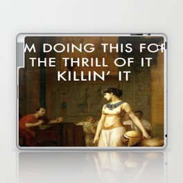 Cleopatra Killin' It Laptop & iPad Skin