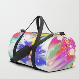 Hibiscus Duffle Bag