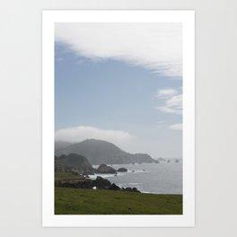 Ocean View - Highway One Art Print