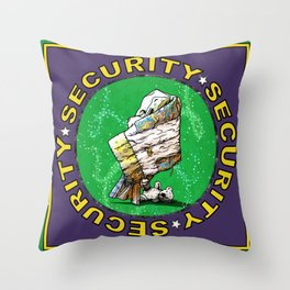 Blanket & Bear Security Throw Pillow