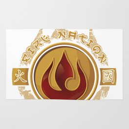 Fire Nation Admiral Rug